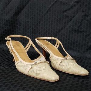 Stuart Weitzman sling back heels